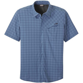 Outdoor Research Astroman S/S Sun Shirt Men peak blue